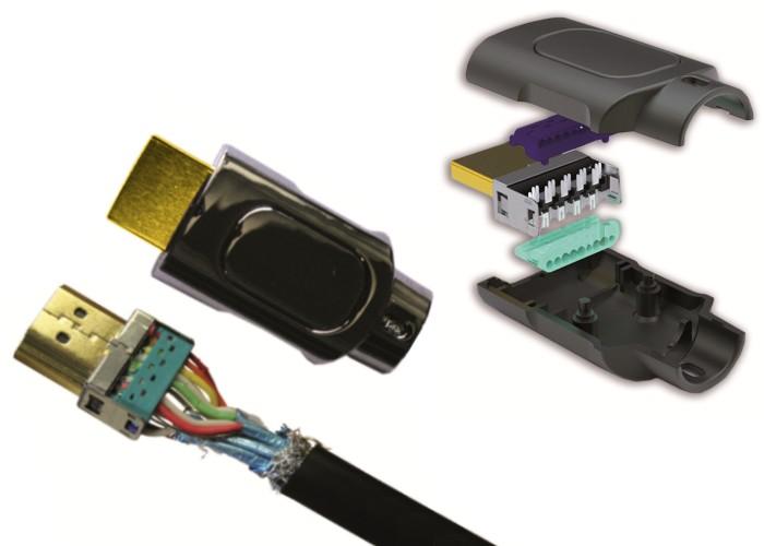 Schema Collegamento Hdmi Rca : Cavi hdmi hd multimediali finte pelli cavi alimentazione car auto