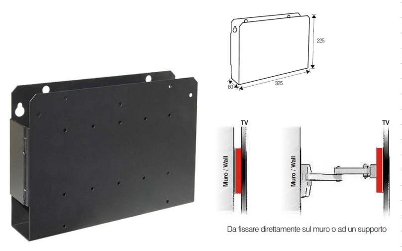 Cavi analogici supporti per altoparlanti cavi - Supporto porta tv ...